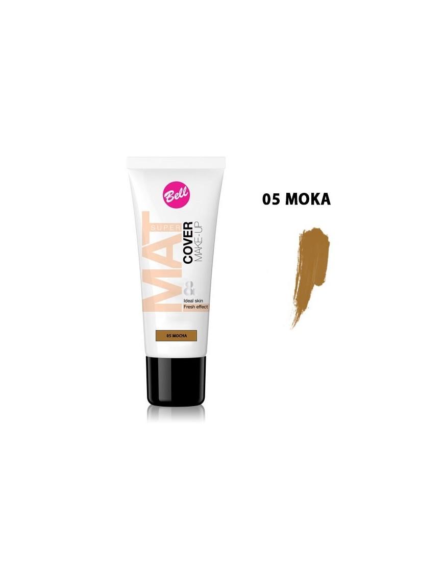 Fond de teint peaux foncées moka