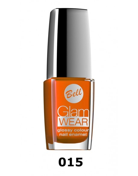 Vernis à ongles intense orange