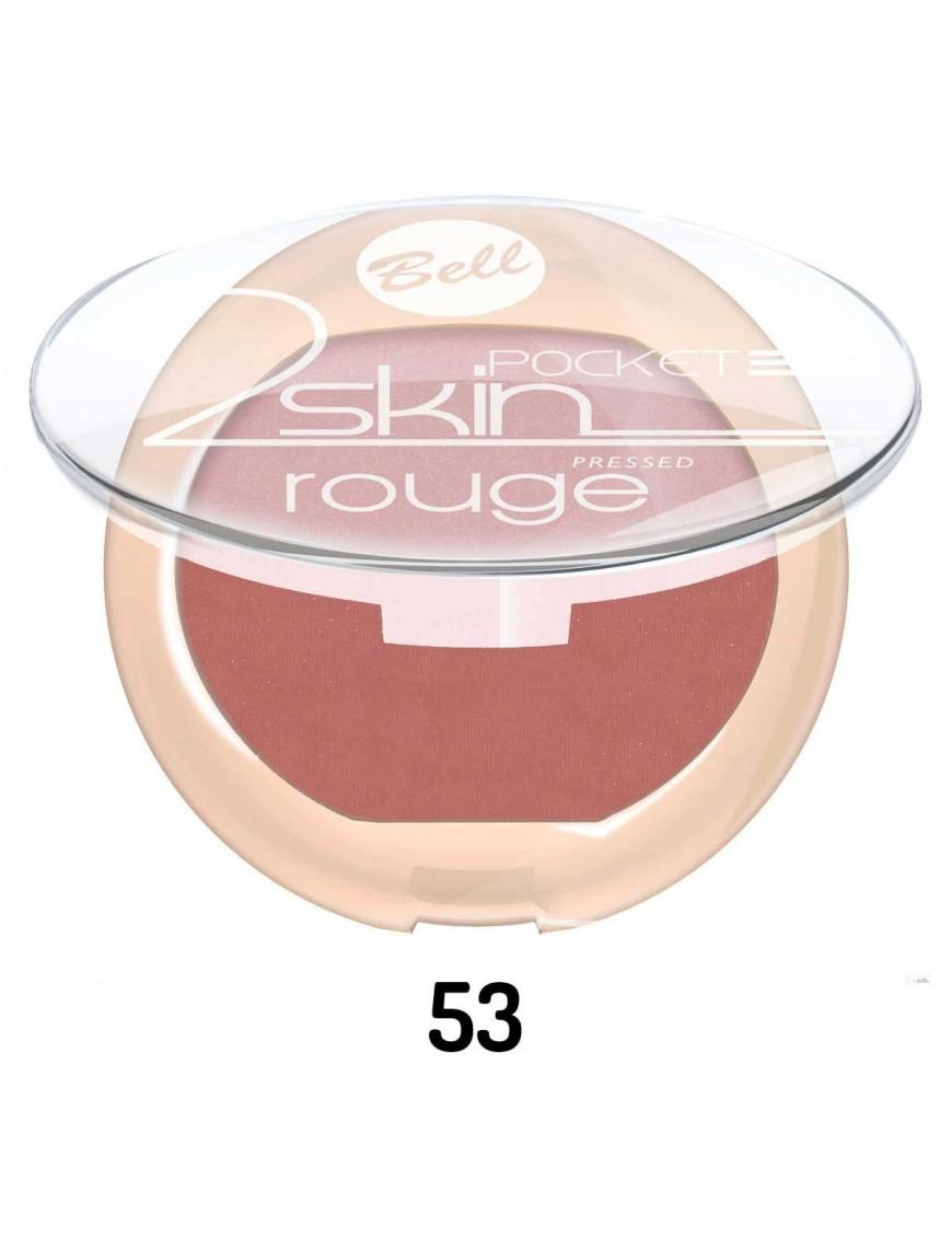 Fard à joues 2 Skin Pocket rose foncé