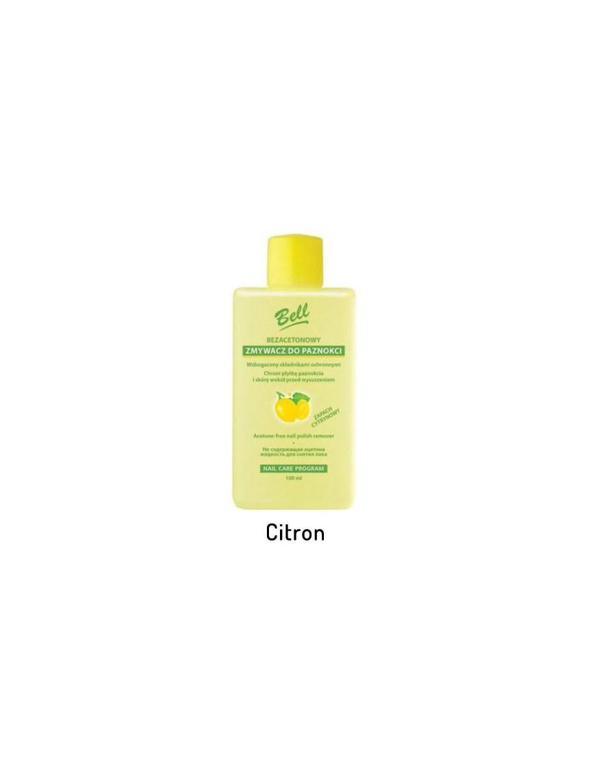 Dissolvant sans acétone parfum citron