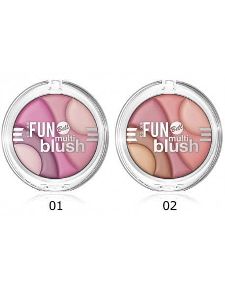 Multi blush Colour Fun
