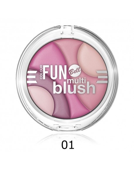 Multi blush Colour Fun Tons violets