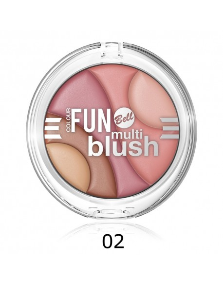 Multi blush Colour Fun Tons roses