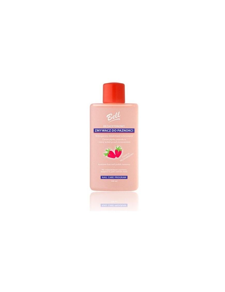 Dissolvant sans acétone parfum fraise