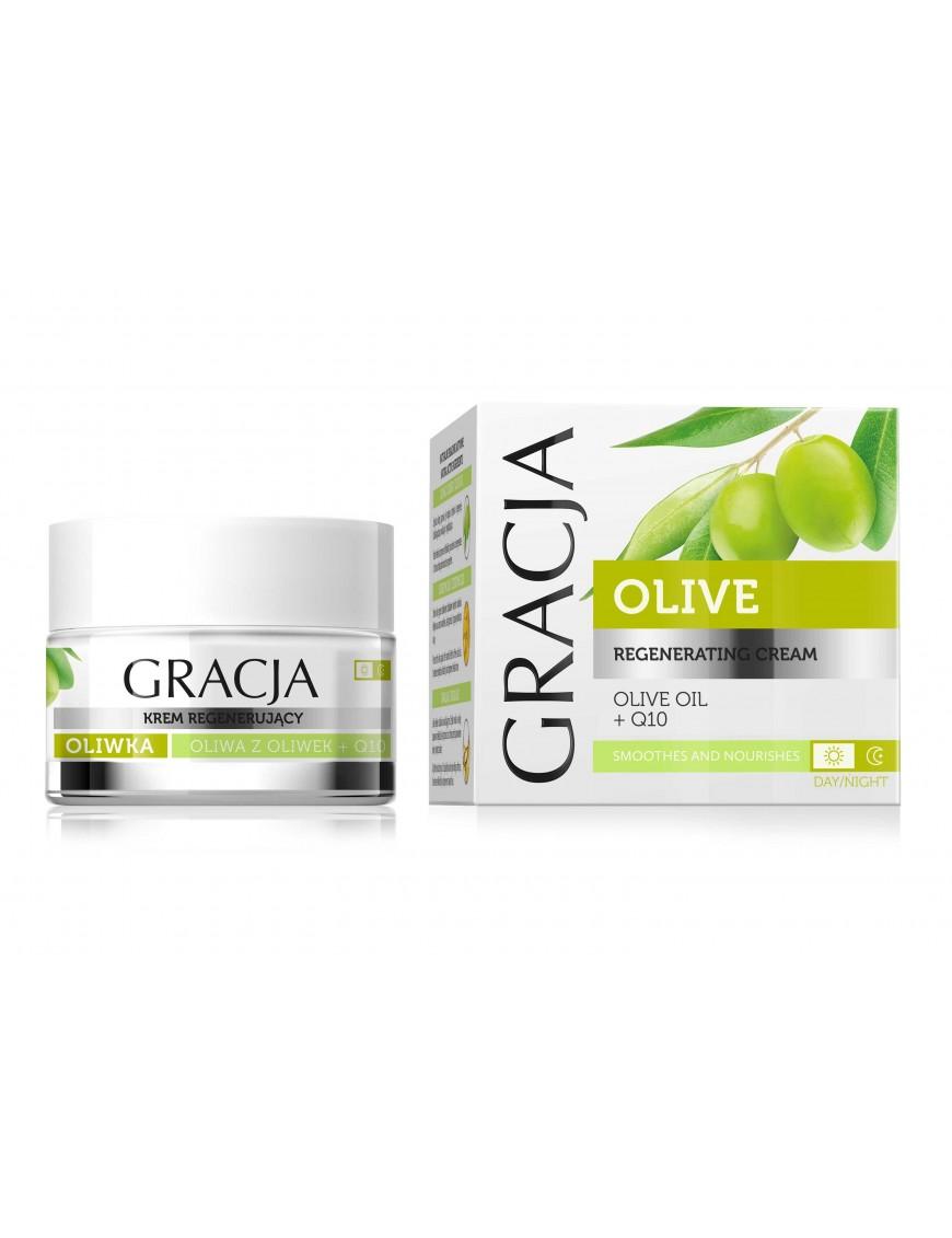 Crème régénérante à l'olive