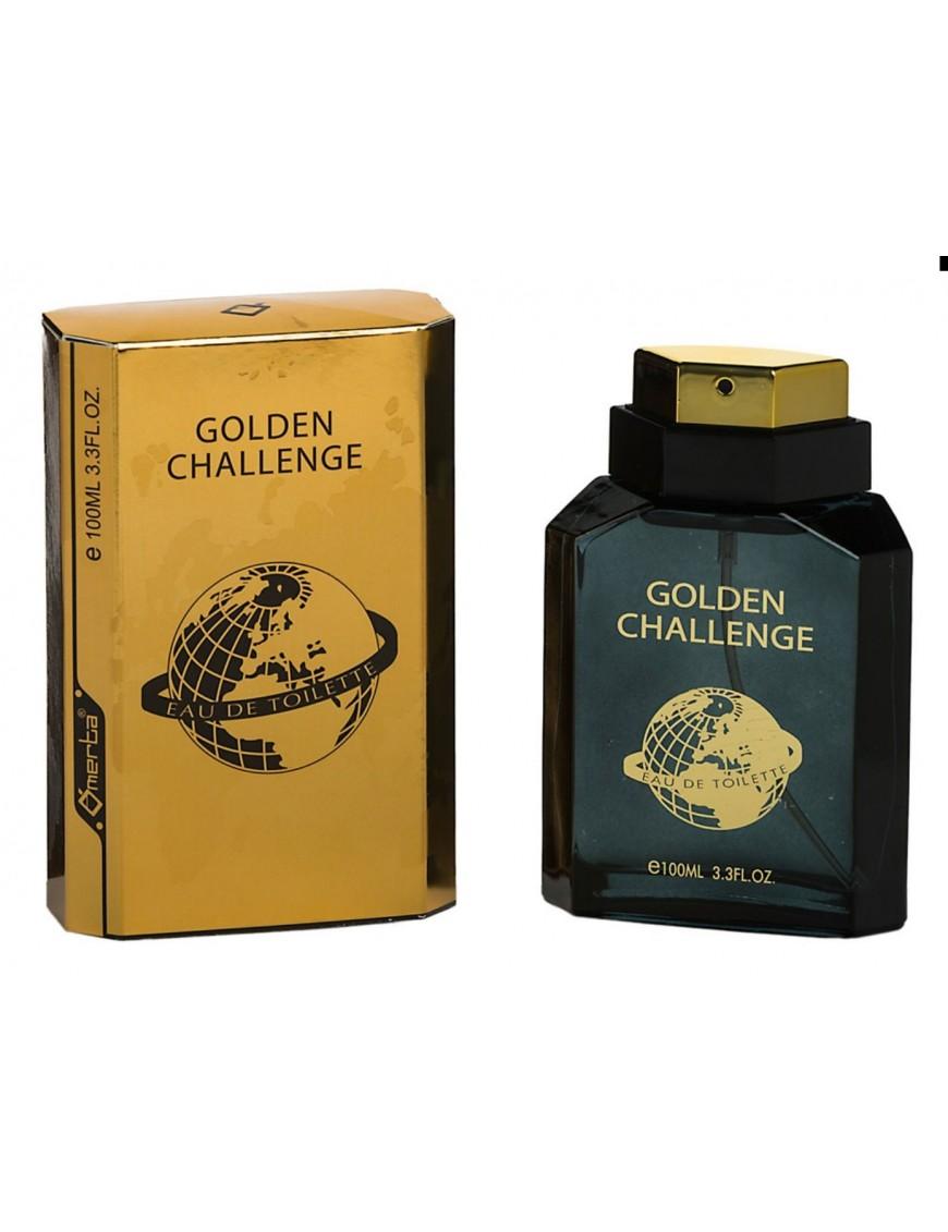 Eau de toilette homme Golden Challenge