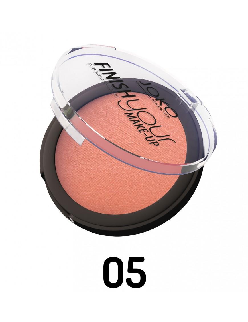 Blush compact abricot