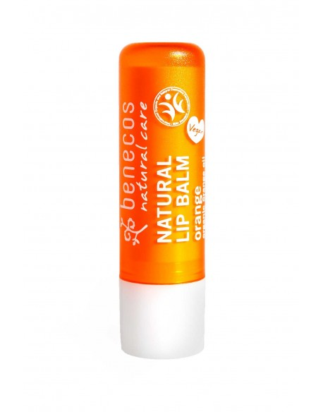 Baume à lèvres naturel parfum orange