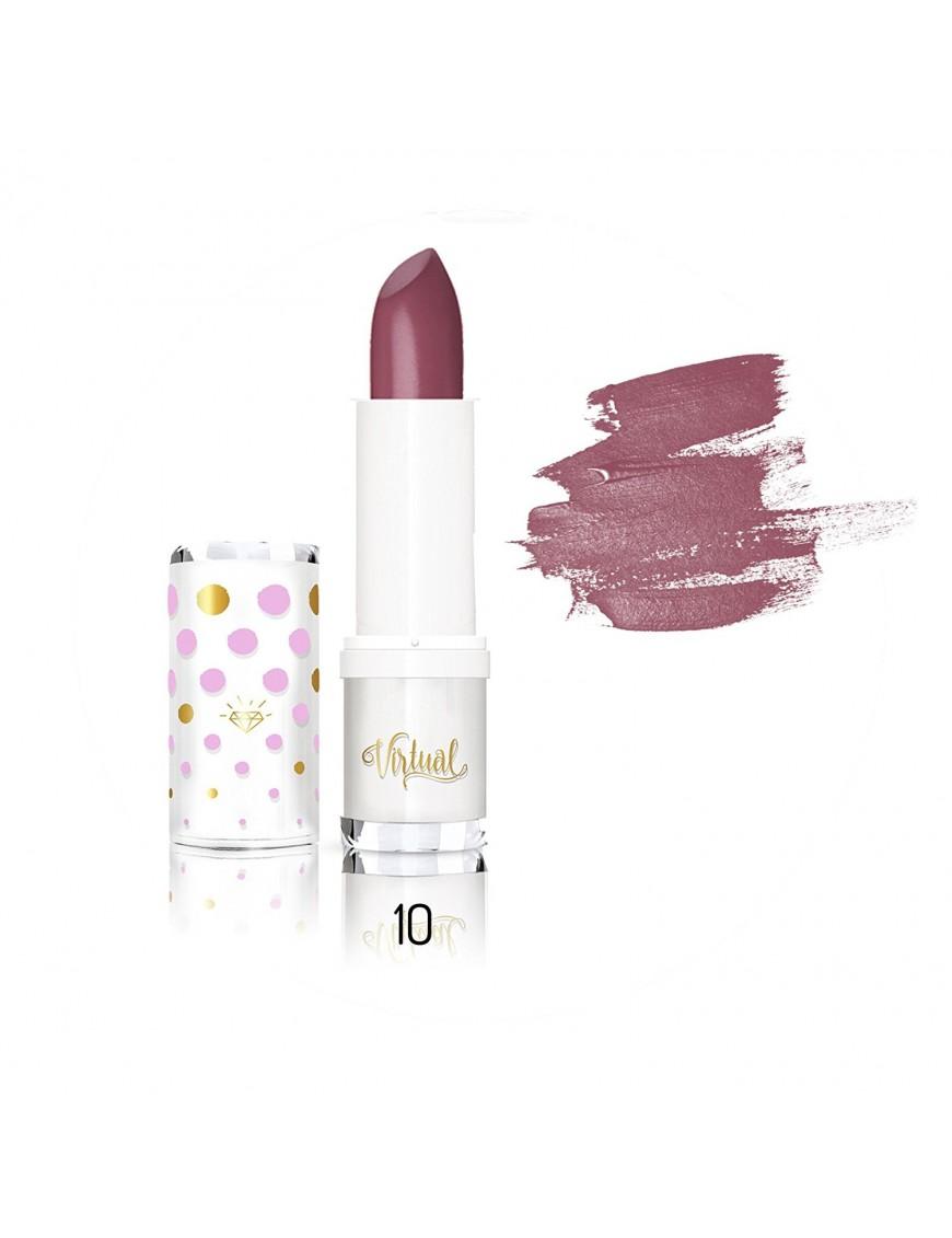 Rouge à lèvres prune intense