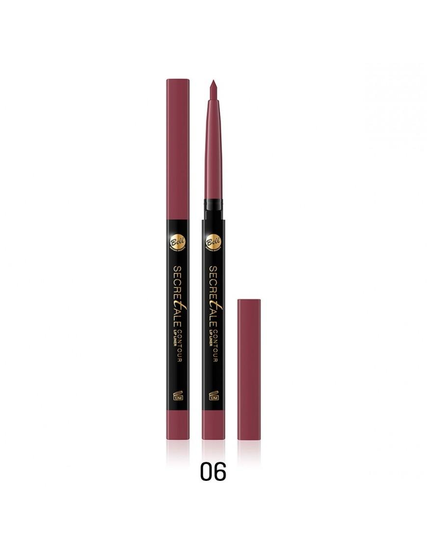 Crayon contour des lèvres prune