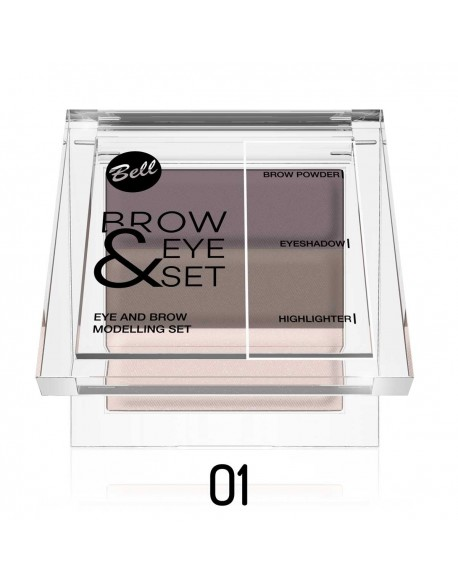 Brow & Eye set blonde