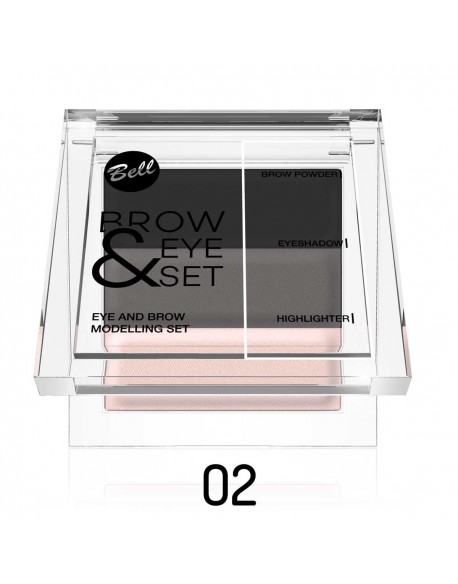 Brow & Eye set brune