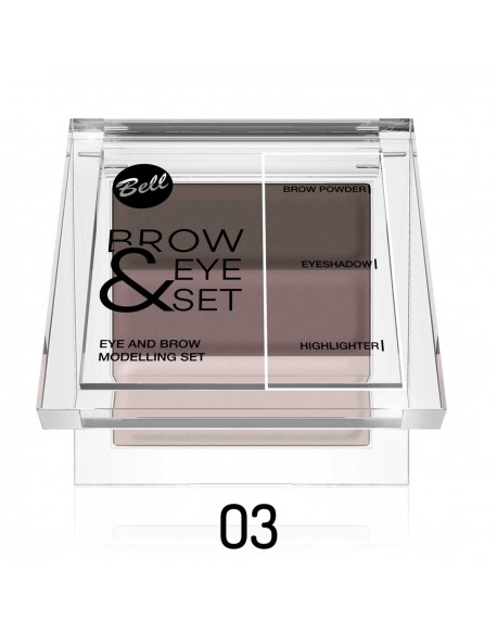 Brow & Eye set chatain