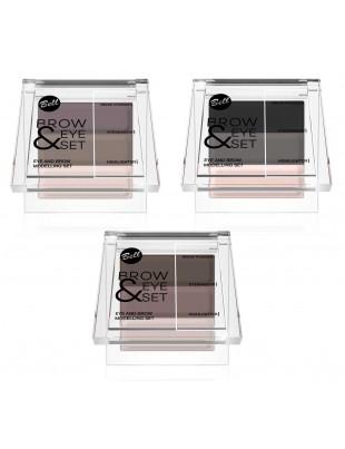 Kit de maquillage pour yeux et sourcils