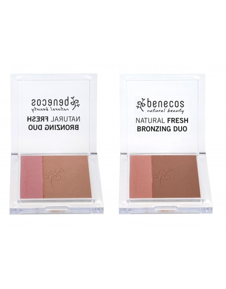 Duo bronzer et blush naturel