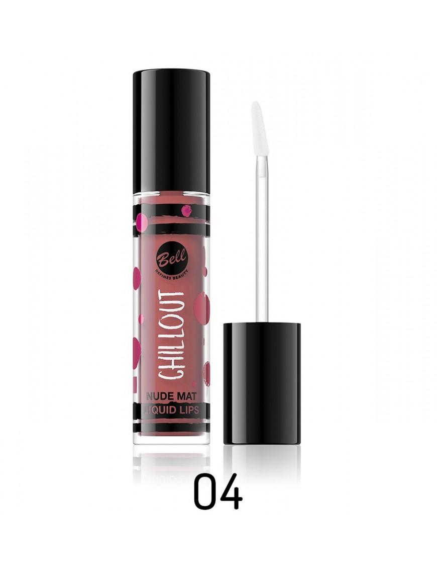 Rouge à lèvres mat nude Couleur-N° 04 Bois de rose