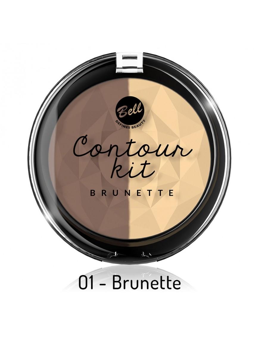 Kit contouring brune