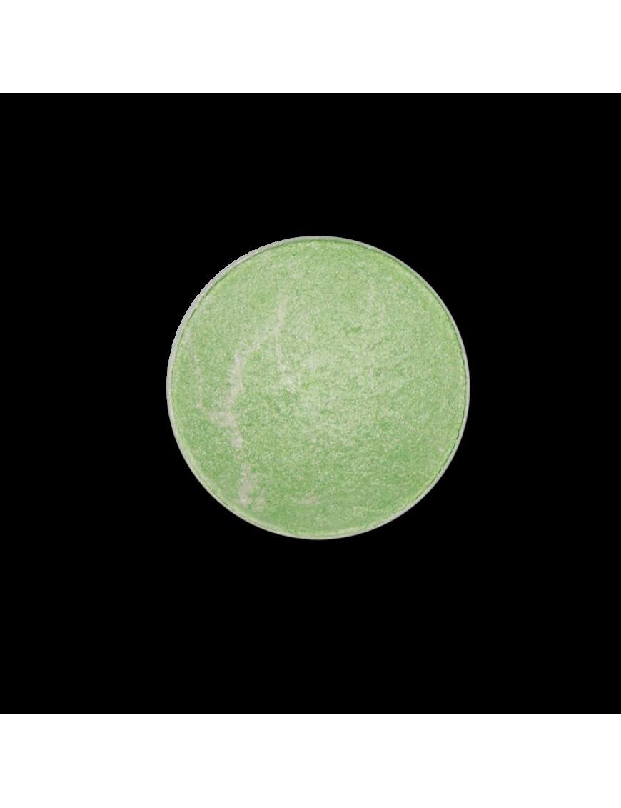 Recharge fard à paupières vert menthe marbré