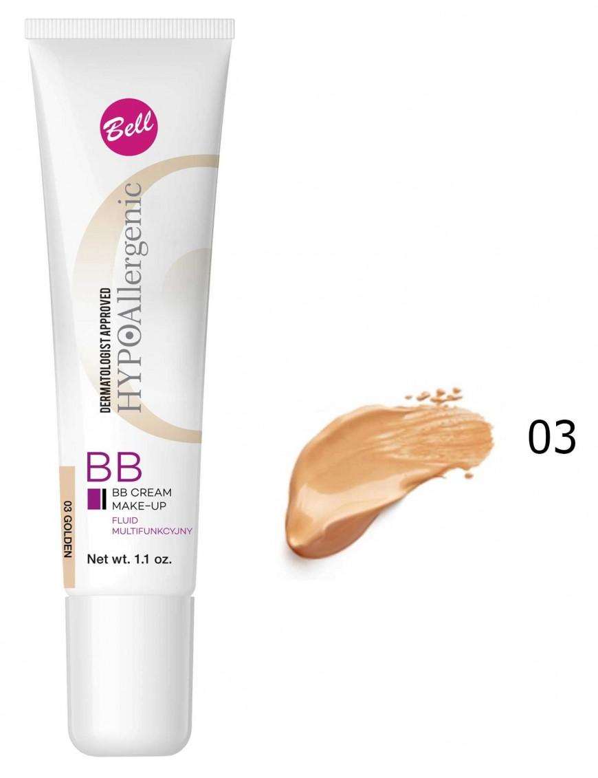 BB Crème hypoallergénique doré