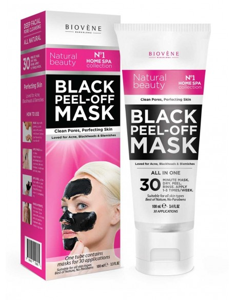 Black mask au charbon tube 100 ml