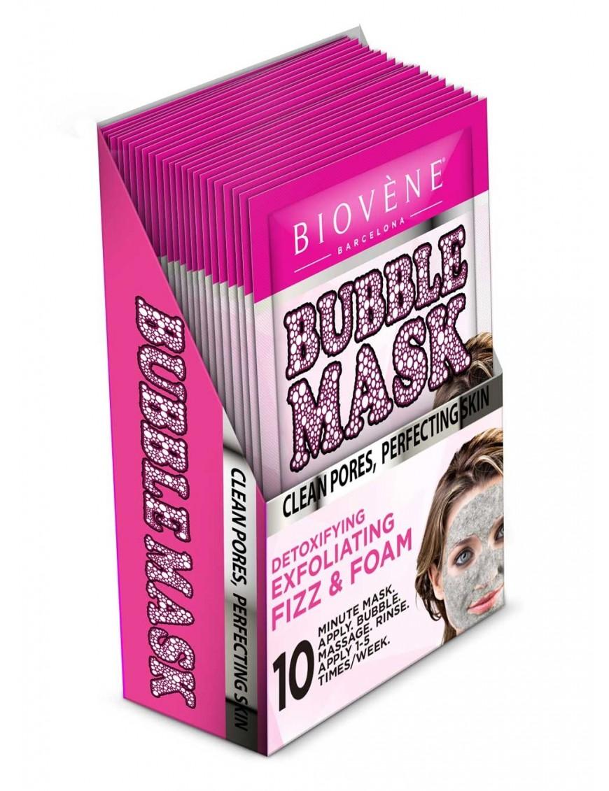 Bubble mask nettoyant au thé vert boite de sachets