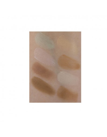 Swatch maquillage contouring