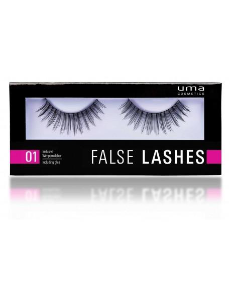 Faux cils avec colle False Lashes
