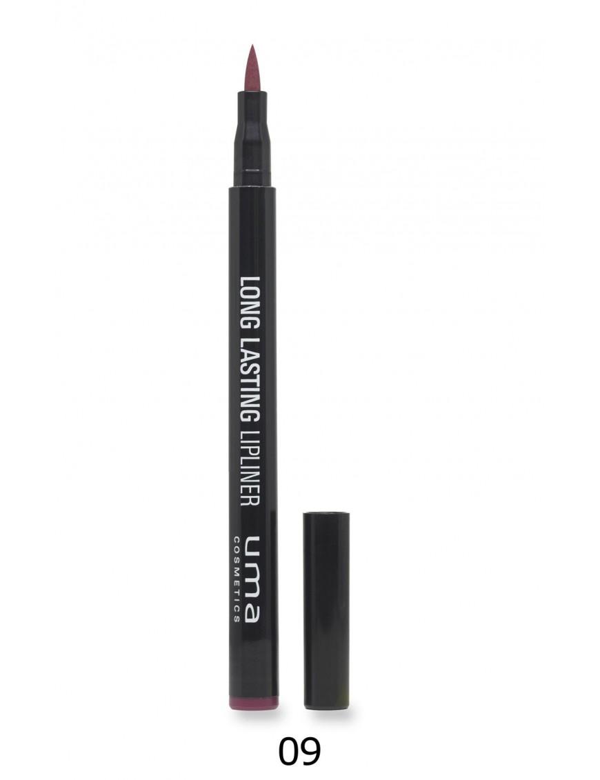 Lip-liner feutre longue tenue 6 couleurs prune