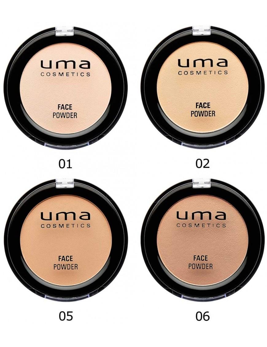 Poudre hydratante matifiante UMA Cosmetics