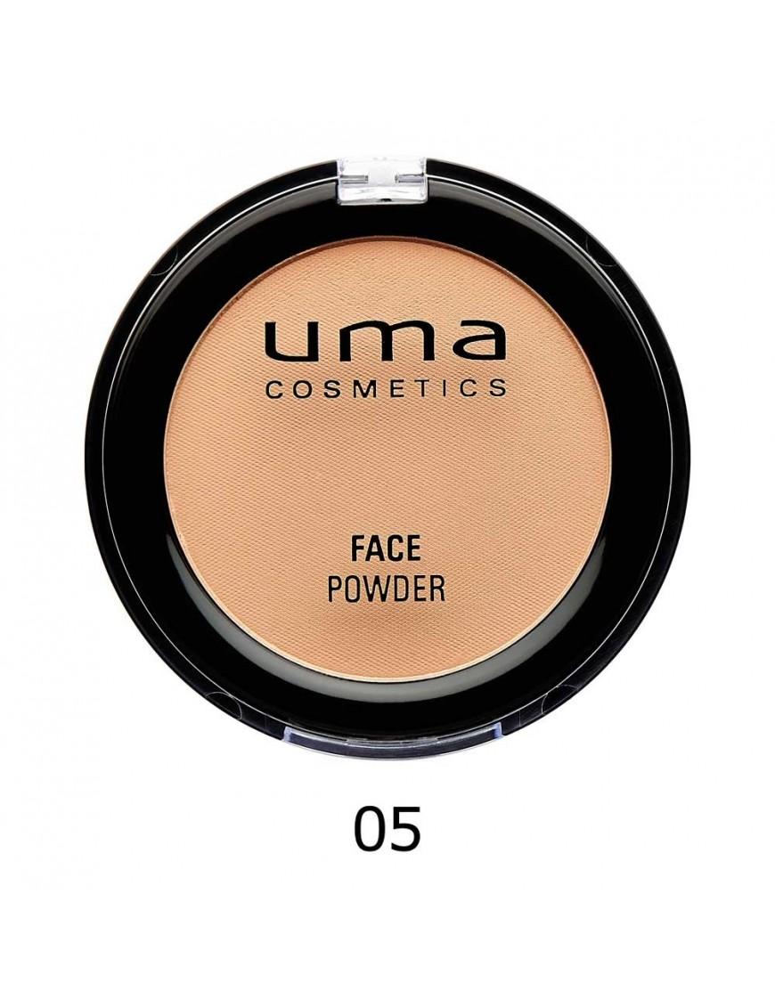 Poudre hydratante matifiante UMA medium dark