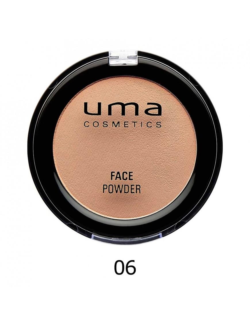 Poudre hydratante matifiante UMA dark