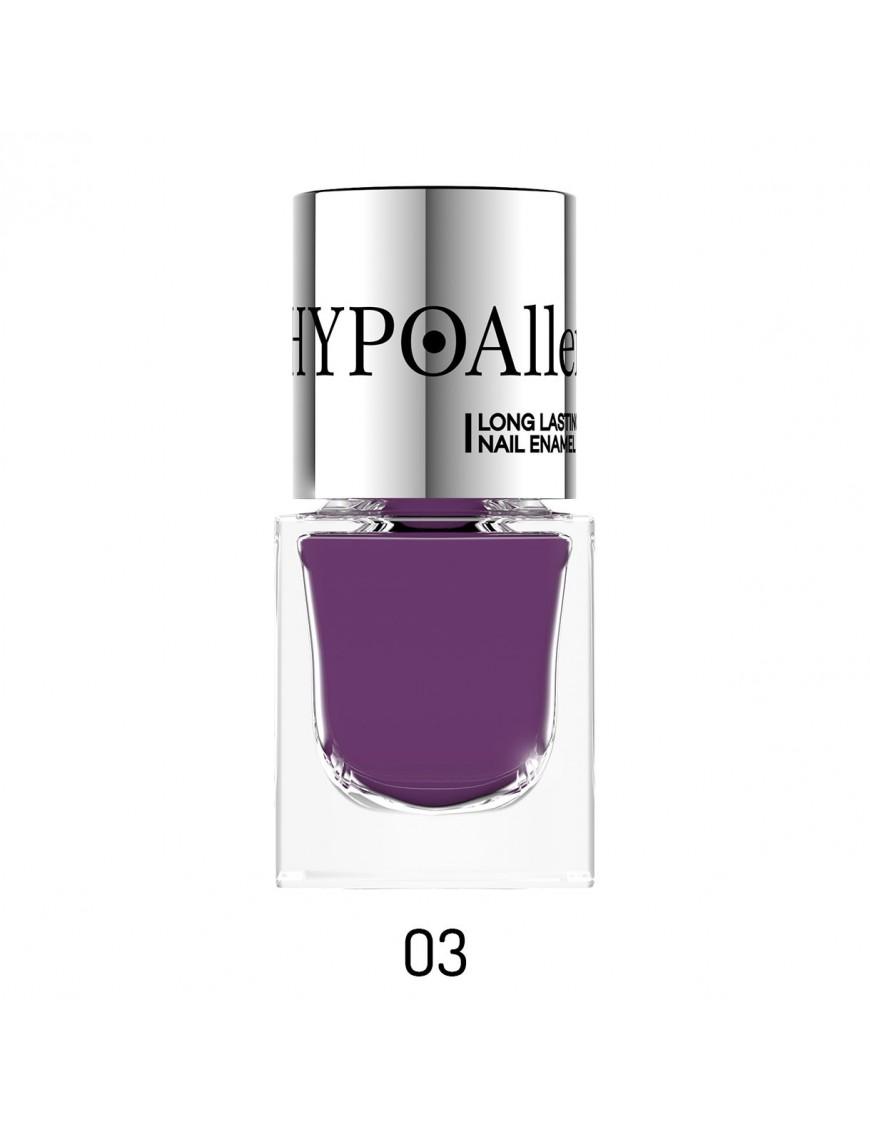 Vernis à ongles hypoallergénique violet