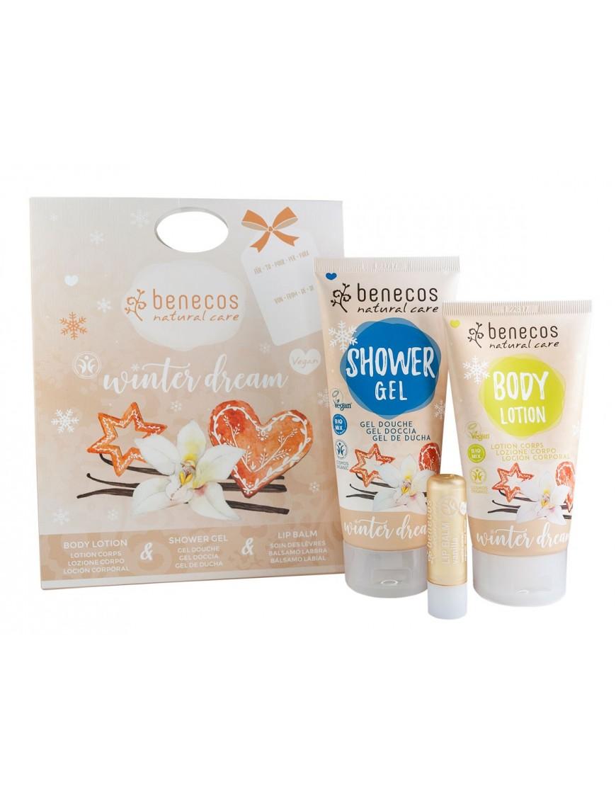 Coffret cadeau winter dream (senteur vanille) - BDIH et Vegan