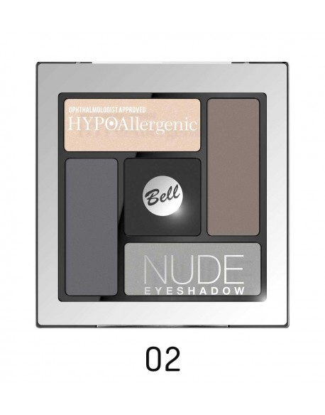 Palette fards nude hypoallergéniques tons smocky