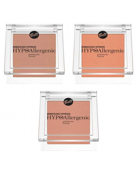 Blush hypoallergénique