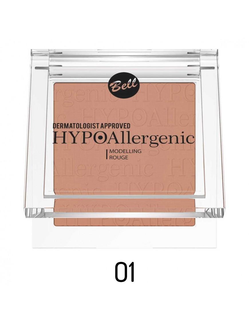 Fard à joues velouté hypoallergénique brun rose