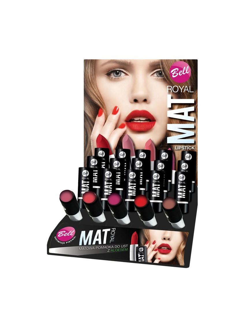 Présentoir rouge à lèvres mat petit format