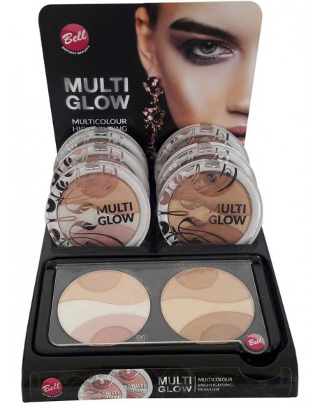 Présentoir highlighter multi-glow