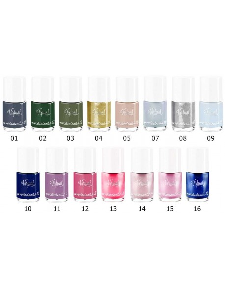 Vernis longue tenue virtual