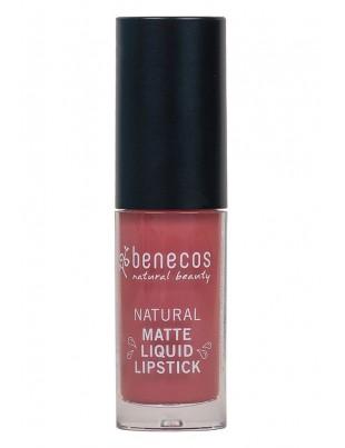 Rouge à lèvres liquide mat naturel