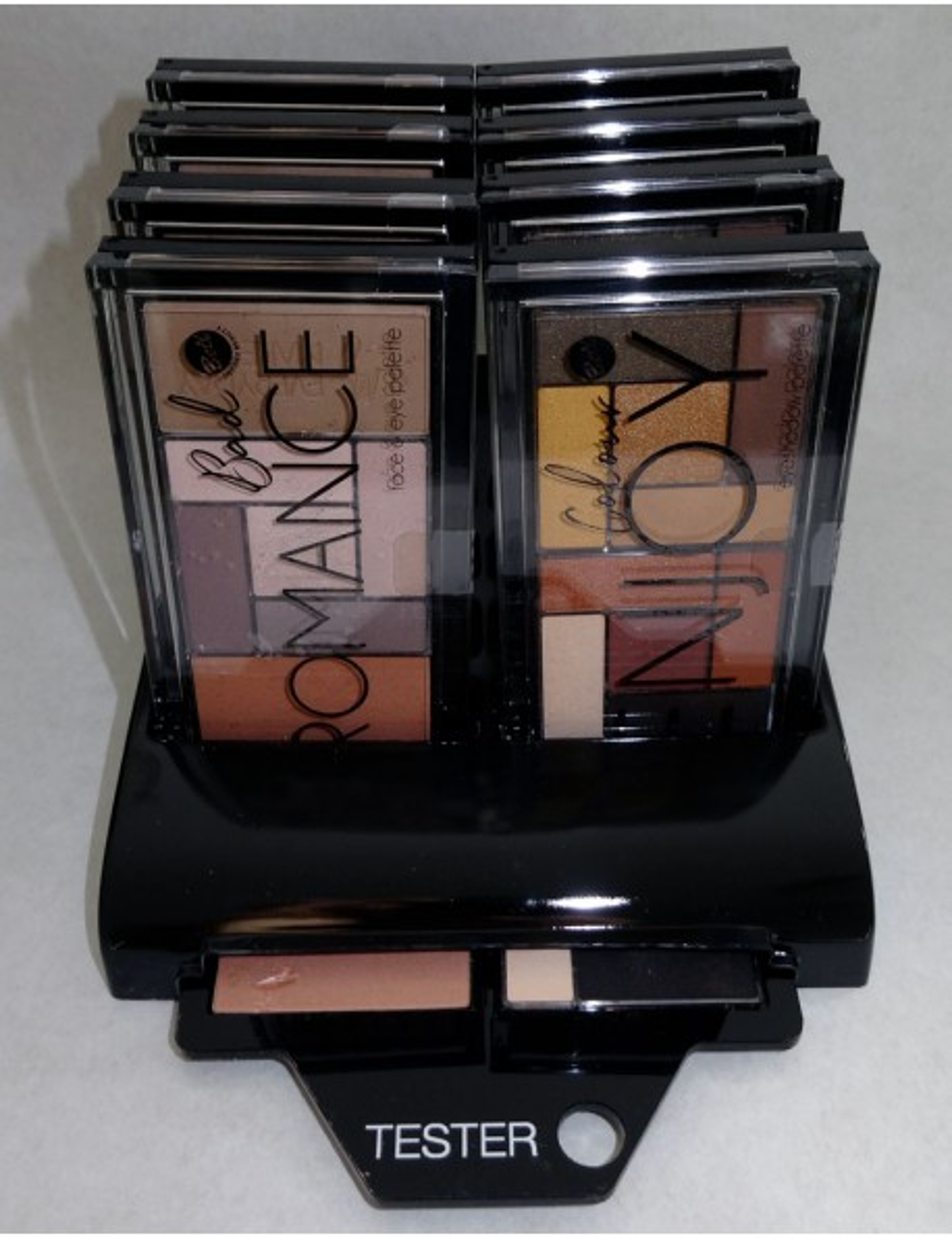 Présentoir Colour Enjoy Eyeshadow Palette&Bad Romance Face&Eye Palette