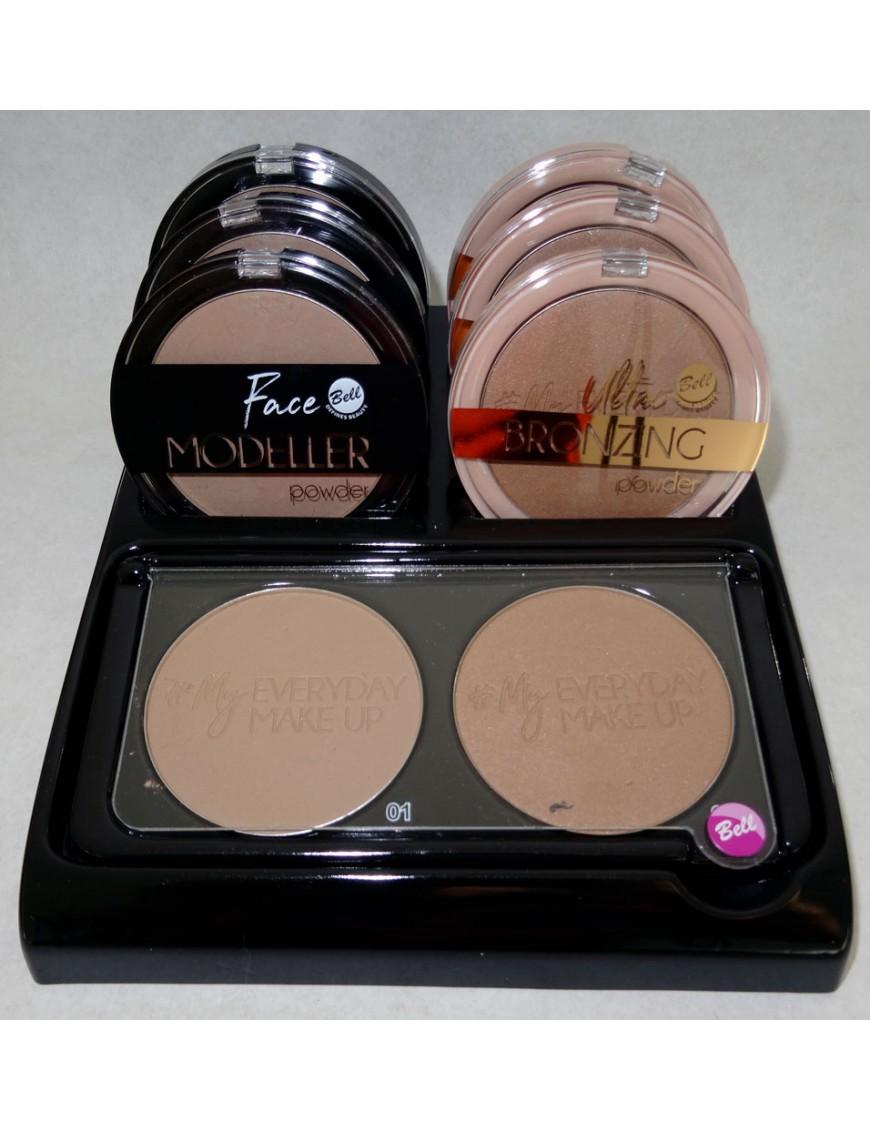 Présentoir Face Modeller Powder & Ultra Bronzing Powder
