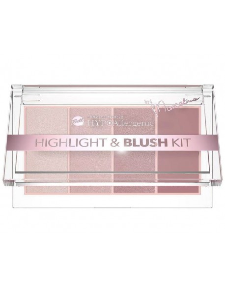 Palette hypoallergénique blush et highlighter