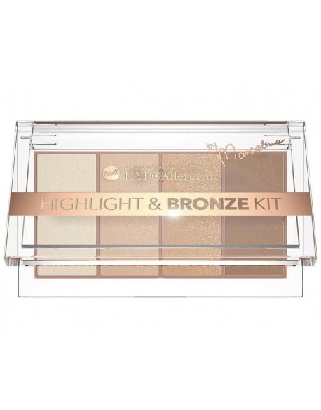 Palette hypoallergénique bronzer et highlighter